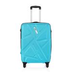 Safari Traffik-Anti Scratch Teal 4 Wheel Hard Luggage Small