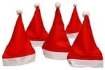 Sunshine 10 Pcs Christmas Hats, Santa Claus Caps