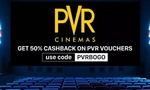 50% cashback on purchase of PVR Voucher