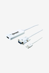 Nextech NA30 VGA to HDMI Audio Support Adapter (White)