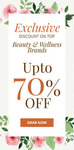Upto Rs.70% Off on Beauty Products + Extra Rs.100 Discount