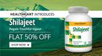 Flat 50% Off on Healthkart Shilajit (60 Capsules)