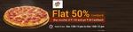 Flat 50% Cashback on Pizza Hut Vouchers (13th - 16th Dec)