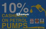 10% cashback (Max. Rs.100) at Petrol pumps using Mobikwik