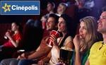 CINEPOLIS 100 off on 2 movie tickets @9 on mydala