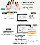 Amazon - Share & Win Free UCB Polo Tshirt worth 1500 rs. @ 0 rs.