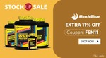 Healthkart Stock Up Sale - Extra 5%, 8% & 11% Off