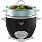 Oster 4728 2.5-Litre Rice Cooker (Grey/Silver)