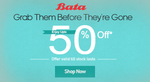 Bata Men & Women Footwear low price