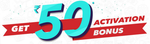 Get Rs 50 Activation Bonus at BookMyShow - 3rd to 5th February