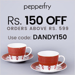150 Off orders above 599 on Dandy Lines