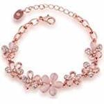 NEVI Pandora Style Handmade Fashion Ceramic Beads Charm Bracelet Jewellery for Women And Girls (Pink)@450