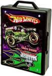 Hot Wheels Monster Jam Truck Case  (Black)