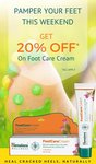 Get 20% Off on Himalaya Foot Care Cream