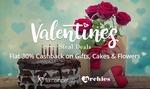 Flat 30% cash back on Valentine Gifts Cake