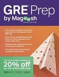 GRE PREP - By MAGOOSH (Kindle edition is Rs. 0 / $0) - 4.8* out of 5