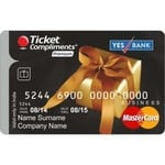 Shopclues : Ticket Compliments Gift Card : Premium - Free Shipping