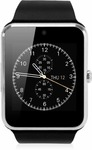 Attire Compatible IOS-Android Quality Smartwatch  (Black Strap L)
