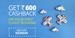 Get Rs.600 Cashback On Your First Flight Booking via ixigo