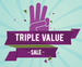 Triple Delight Sale – Under Rs. 199/- with free COD with extra 10% Off on all prepaid orders