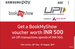 Samsung Pay: Get a BookMyShow voucher worth 500 on doing UPI transactions of 500