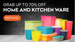 Grab upto 70% on Home and Kitchen Wares