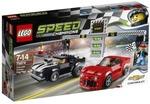 Lego Chevrolet Camaro Drag Race (Multicolor)