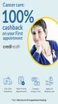 Cancer Care: 100% Cashback On First Appointment With An Oncologist @ Credihealth via Paytm discount deal