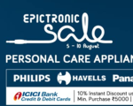 TataCliq Epictronic Sale : Independence day offers - Upto 70% OF + 10% off using ICICI Bank Credit or Debit Card | 5-15 Aug