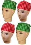 (Steal) Neska Moda Men's, Women's Polka Print Bandana (Pack of 4) @89+52
