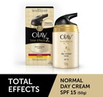 OLAY Total Effects 7-In-One Anti-Ageing Day Cream for Normal Skin with SPF 15 (50 g)