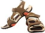 Lotto Men Brown/Beige Sports Sandals