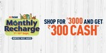 Shop for 3000 and Get 300 cashback using Future Pay Wallet @ BigBazaar