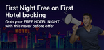 Get 1st room night free (Max instant discount Rs.3,000).