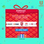 Get 3% Cashback on Buying Gift Vouchers
