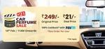 DROOM: car perfume @21 +100% Cashback