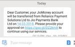 JIO MONEY CONVERTING TO JIO PAYMENT BANK