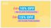 Flipkart: Buy More, Save More - Buy worth ₹2000-2999 save Extra 10%; Buy worth ₹3000 save Extra 15%