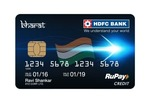 HDFC Bank Launch Bharat RuPay credit card (Cashback offers & fees)