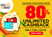 Salebhai : 80% unlimited cashback