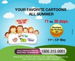 Videocon D2H Khushiyon Ka Weekend Offer (11th - 13th May): Kids Zone