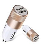 Dual Port USB car Charger With 2 USB Port 3.1 AMP. (With Samsung Charging Cable) Output Compatible
