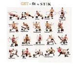 Six Pack Abs Exerciser / Six Pack Machine 20 Different Mode For Exercise and Fitness (Without Cycle)