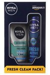 Men Fresh Active Original Deodorant Spray, 150ml with All in One Face Wash, 100ml @ 199