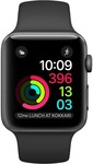 Apple Watch Series 1 - 42 mm Space Grey Aluminium Case with Black Sport Band @ 16900 + 10% hdfc offer