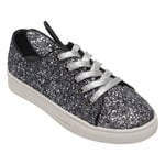 Catwalk Silver Casual Shoes