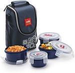 Cello Max Fresh Click 4 Containers Lunch Box