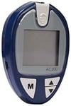 JSB AC200 Blood Glucose Monitor (Blue) with Free Strips - 25 Count and Lancets - 25 Count