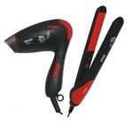 Inalsa Shine Combo Pack- Hair Straightener and Hair Dryer