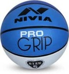 LOWEST   Nivia Pro Grip Basketball - Size: 7  (Pack of 1, Green)